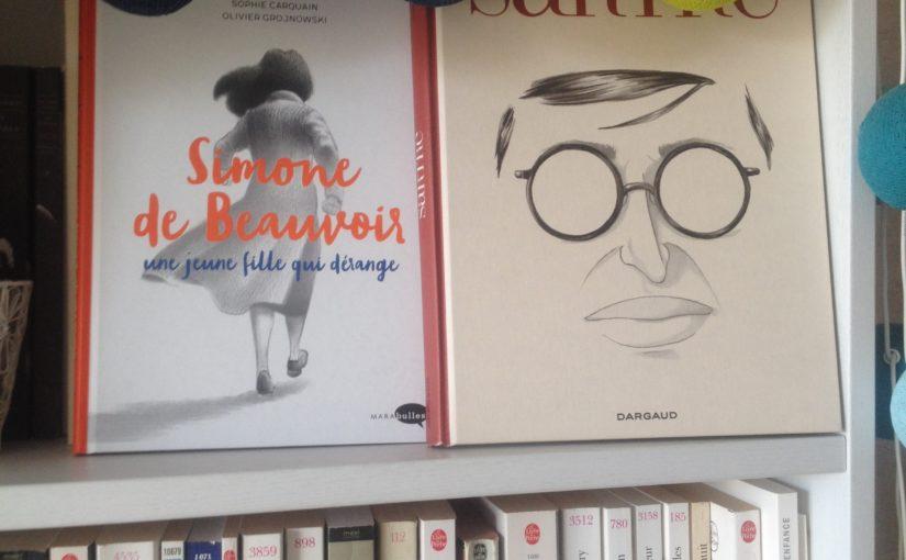 Deux intellectuels en BD !